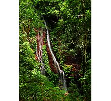 Red falls Photographic Print