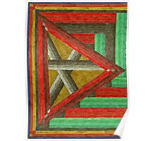 Abstract Art Study - Right Triangle Poster
