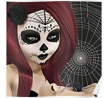 Black Widow Sugar Doll Poster