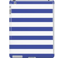Stripy Navy iPad Case/Skin
