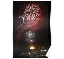 Fire works !! Poster