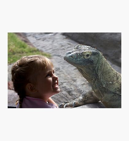Dragons are Real! Photographic Print