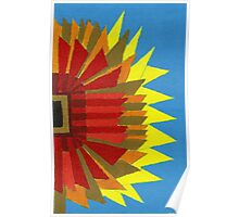 Abstract Study - Sunflower Poster