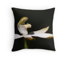 Musky Caps (Stegostyla gracilis) Throw Pillow