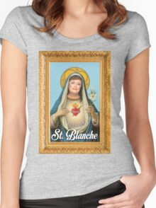 St. Blanche - Golden Girls Women's Fitted Scoop T-Shirt