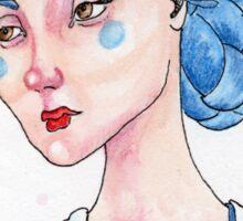 Feeling Blue Sticker