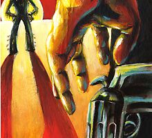 Pulp Cowboys - Pistols at dawn in a dust storm by Alex e Clark