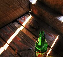 Bottle on the Bridge by ShutterChemist Photography