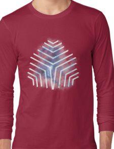 Graphic Nebula Blue Long Sleeve T-Shirt