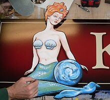 Kelly's Cantina sign... Florence, OR by Sam Dantone