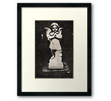 Angel Grave Framed Print