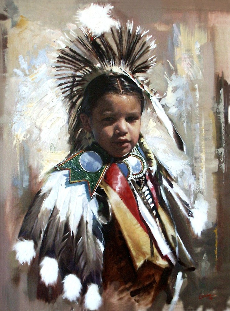 Portrait of a Young Dancer by Dan Lewis