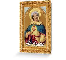 St. Sophia - Golden Girls Greeting Card