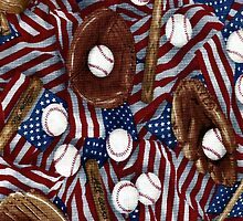 Baseball In The USA  by HavenDesign