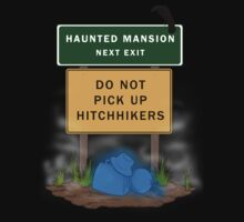 Beware of Hitchhiking Ghosts Baby Tee