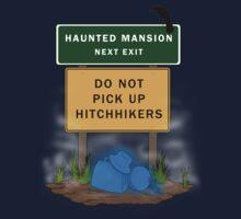 Beware of Hitchhiking Ghosts Kids Tee