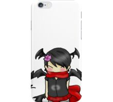 Silly chibi final doodle iPhone Case/Skin