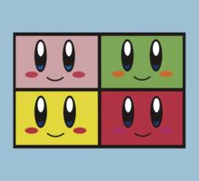 The Power Of 4 Kirbys Kids Tee