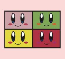 The Power Of 4 Kirbys Baby Tee