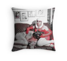 Master and slave Throw Pillow