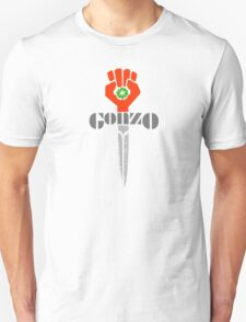 Hunter S. Thompson Gonzo Sticker & Shirt T-Shirt
