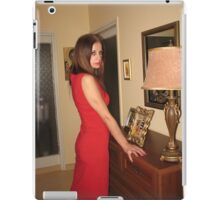 Lily In Red iPad Case/Skin