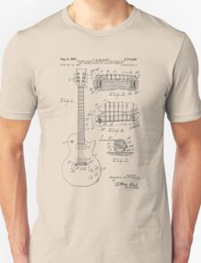 Guitar patent from 1955 T-Shirt