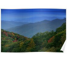 Autumn in the Smoky Mountains Poster
