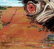 Emu Shirt Sticker
