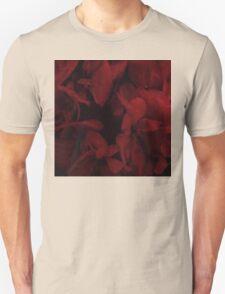 Blood red flower Unisex T-Shirt