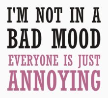 NOT IN A BAD MOOD One Piece - Long Sleeve