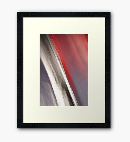 Virtual Brush Strokes Framed Print