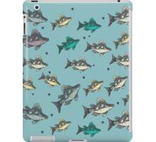 Flying Fish Blue iPad Case/Skin