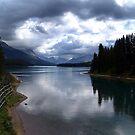 Lake Maligne (1) by Jann Ashworth