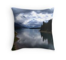 Lake Maligne (1) Throw Pillow