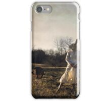 Country Rabbit iPhone Case/Skin