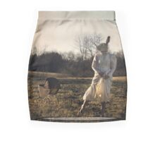 Country Rabbit Mini Skirt