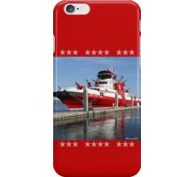 343 ~ FDNY's New Fireboat on Route to New York  iPhone Case/Skin