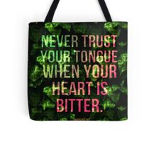 Bitter Heart Tote Bag