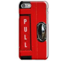 Pull this Handle iPhone Case/Skin
