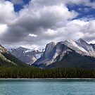 Mountains-Lake Maligne by Jann Ashworth