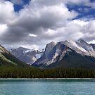 Mountains-Lake Maligne by Jann Ashworth