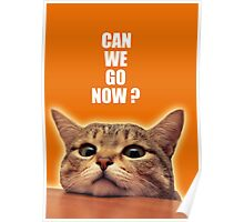 can we go now ? Poster