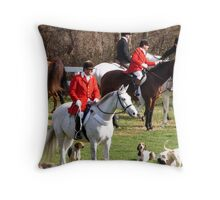 The Blessing of the Hunt Throw Pillow