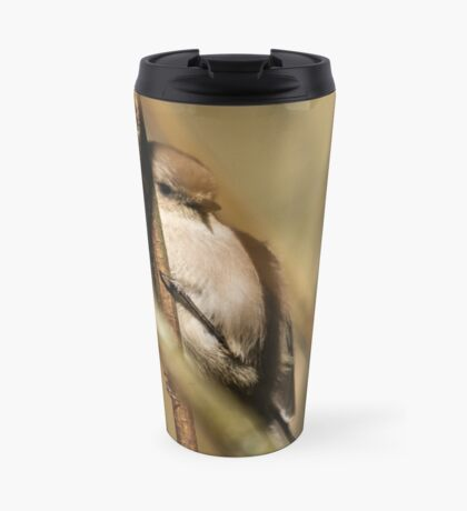 A Tiny Bird Amidst the Branches Travel Mug