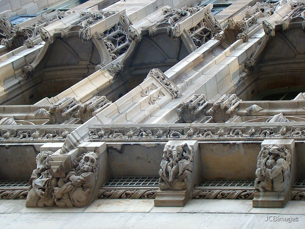 Tribune Tower Grotesques by JCBimages