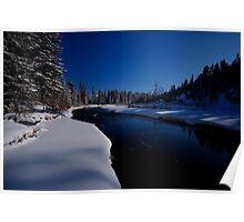 Elk River, British Columbia Poster