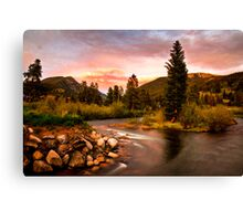 Snake River HDR Canvas Print