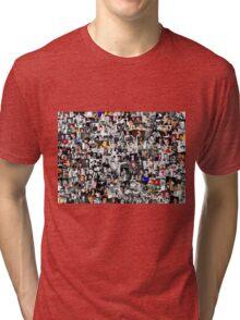 Elvis presley collage Tri-blend T-Shirt