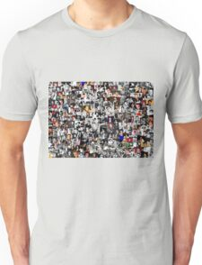 Elvis presley collage Unisex T-Shirt